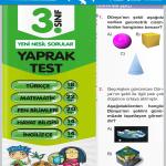 Evrensel Yay. 3.Sınıf Tüm Dersler Yaprak Testler