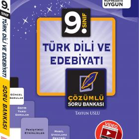 Evrensel Yay. 9. Sınıf Türk Dili Ve Edebiyatı Video Çözümlü Konu Özetli Soru Bankası