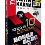 Altın Karma Yayınları TYT 2021 10 yayın 10 Deneme Seti