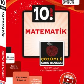 Evrensel Yay. 10. Sınıf Matematik Video Çözümlü Soru Bankası