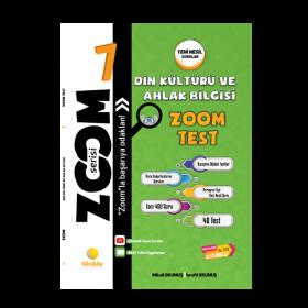 Günay Yay. Zoom Serisi Din Kültürü ve Ahlak Bilgisi 7 Soru Bankası