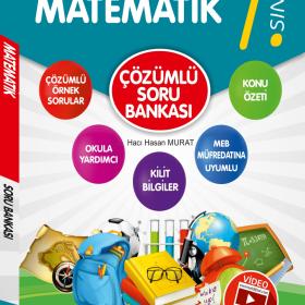 Evrensel Yay. 7.Sınıf Matematik Video Çözümlü Soru Bankası