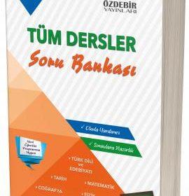Özdebir Yayınları 10.Sınıf Tüm Dersler soru Bankası