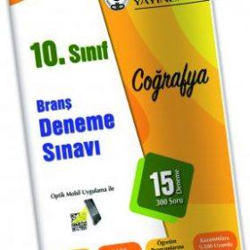 Özdebir Yay. 10. SINIF BRANŞ DENEME SINAVI COĞRAFYA