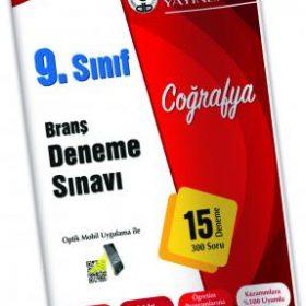 Özdebir Yayınları 9.Sınıf Coğrafya Deneme Sınavı