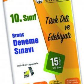 Özdebir Yayınları 10.Sınıf Türk Dili Ve Edebiyatı Deneme Sınavı