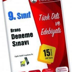 Özdebir Yay. 9.Sınıf Deneme Sınavı Türk Dili Ve Edebiyatı