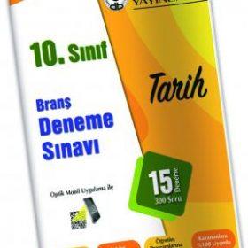 Özdebir Yay. 10. SINIF BRANŞ DENEME SINAVI TARİH