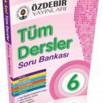 Özdebir Yayınları 6.Sınıf Tüm Dersler Soru Bankası