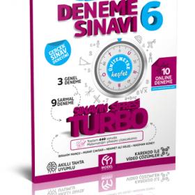 Turbo Matematik 6 Deneme Sınavı