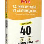 LGS İnkılap Tarihi ve Atatürkçülük (10 Sarmal + 30 Karma) 40 Deneme Sınavı