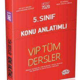 5. Sınıf VIP Tüm Dersler Konu Anlatımı Kırmızı Kitap