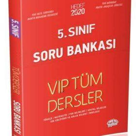 5. Sınıf VIP Tüm Dersler Soru Bankası Kırmızı Kitap