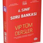 6. Sınıf VIP Tüm Dersler Soru Bankası Kırmızı Kitap
