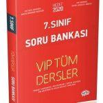7. Sınıf VIP Tüm Dersler Soru Bankası Kırmızı Kitap