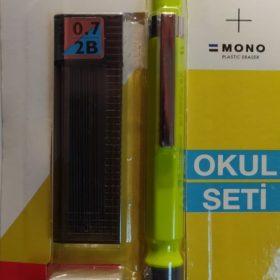 Tombow SH-300 Grip 07 Kalem Seti Neon Sarı