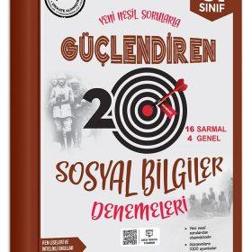 Ankara Yayıncılık 6. Sınıf Güçlendiren Sosyal Bilgiler 20 Deneme Sınavı