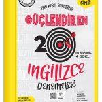 Ankara Yayıncılık  7. Sınıf Güçlendiren İngilizce 20 Deneme Sınavı