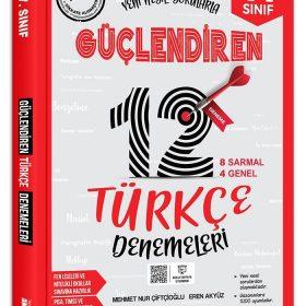 Ankara Yayıncılık 7. Sınıf Güçlendiren Türkçe 12 Deneme Sınavı