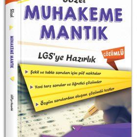 Ankara Yayıncılık 8. Sınıf LGS'ye Hazırlık Sözel Muhakeme Mantık Soru Bankası
