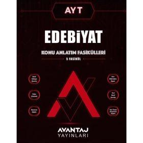 Avantaj Yayınları AYT Edebiyat Konu Anlatım Fasikülleri