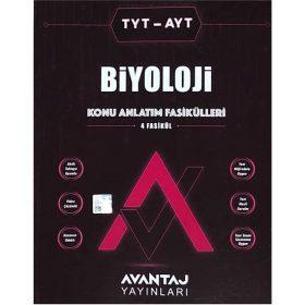 Avantaj Yayınları TYT - AYT Biyoloji Konu Fasikülleri