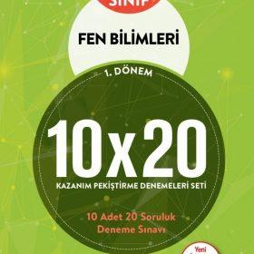 BLOKTEST 5.SINIF FEN BİLİMLERİ 10×20 KAP DENEME (1.DNM)