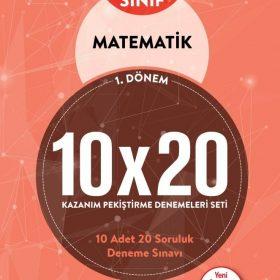 BLOKTEST 5.SINIF MATEMATİK 10×20 KAP DENEME (1.DNM)