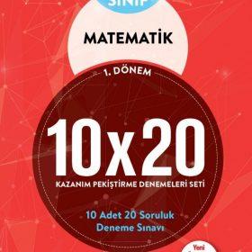 BLOKTEST 6.SINIF MATEMATİK 10×20 KAP DENEME (1.DNM)