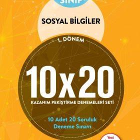BLOKTEST 6.SINIF SOSYAL BİLGİLER 10×20 KAP DENEME (1.DNM.)
