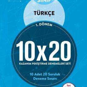 BLOKTEST 6.SINIF TÜRKÇE 10×20 KAP DENEME (1.DNM)