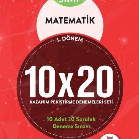 BLOKTEST 7.SINIF MATEMATİK 10×20 KAP DENEME (1.DNM)