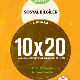 BLOKTEST 7.SINIF SOSYAL BİLGİLER 10×20 KAP DENEME. (1. DNM)