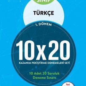 BLOKTEST 7. SINIF TÜRKÇE 10×20 KAP DENEME (1.DNM)