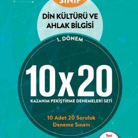BLOKTEST 8.SINIF DİN KÜLTÜRÜ 10×20 KAP DENEME. (1. DNM)