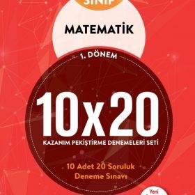 BLOKTEST 8. SINIF MATEMATİK 10×20 KAP DENEME (1.DNM)