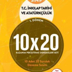 BLOKTEST 8.SINIF T.C.İNKILAP TARİHİ 10x20 KAP DENEME.(1.DNM)